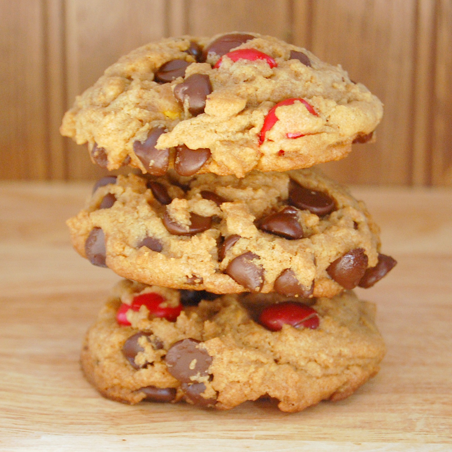 chocolate chip with reeses pieces