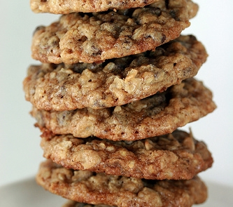 Oatmeal Chocolate Chip Cookies with Pecans